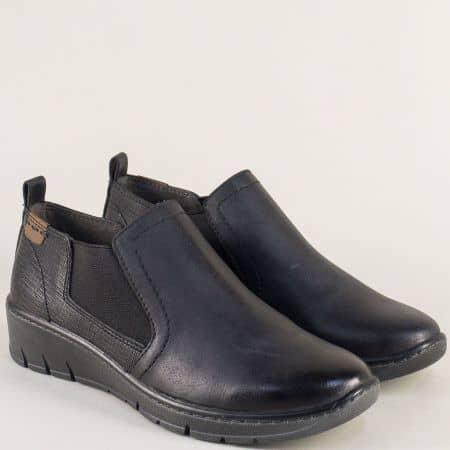 Шити дамски обувки в черен цвят с Flex - Comfort система 8824304ch