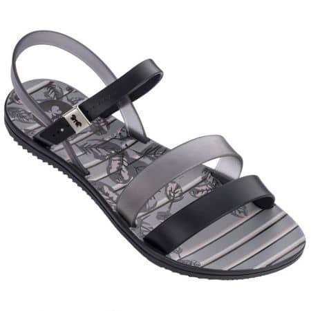 Равни дамски сандали в черен цвят- ZAXY 8246890058