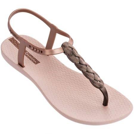 Розови дамски сандали с лента между пръста- IPANEMA 8251724185