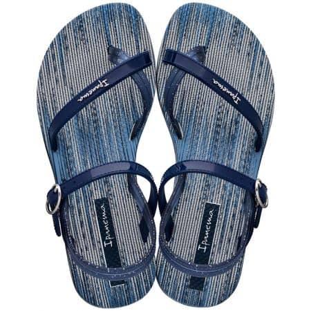 Сини детски сандали на равно ходило- IPANEMA 8252220032