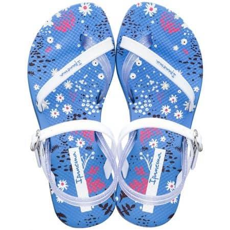Сини детски сандали с флорален принт- IPANEMA 8252220247