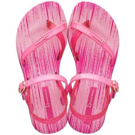 Равни детски сандали в розов цвят- IPANEMA 8252220791