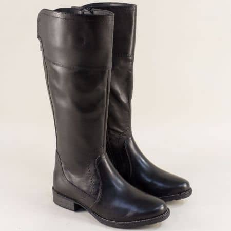 Немски дамски ботуши от естествена кожа на марка JANA  825602ch