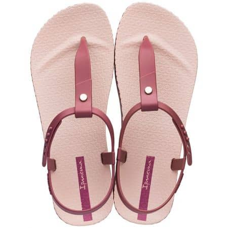 Розови дамски сандали на равно ходило- IPANEMA 8262624752