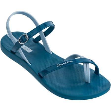 Дамски сандали на равно ходило- IPANEMA в син цвят 8268220764