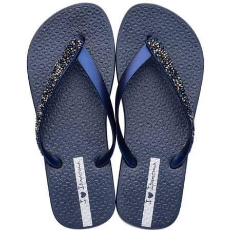 Дамски джапанки в тъмно син цвят- IPANEMA 8268520729
