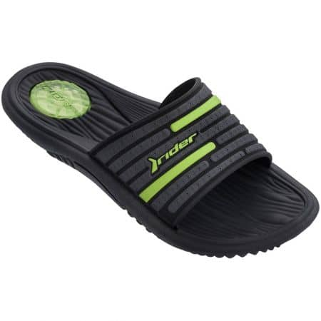 Мъжки джапанки в зелено и черно на удобно ходило- RIDER 8273521675