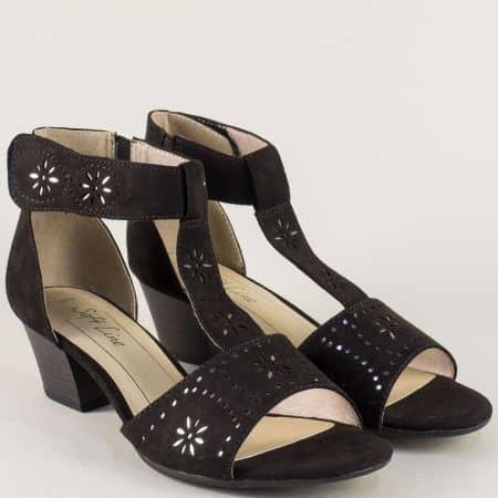 Дамски сандали със затворена пета на марка Jana 828362vch