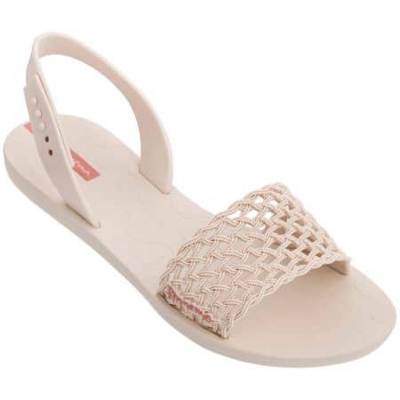 Дамски сандали на равно ходило- IPANEMA в бежов цвят 8285520354