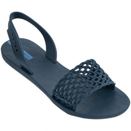 Дамски сандали- IPANEMA на равно ходило в тъмно син цвят 8285520729