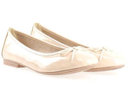 Немски равни дамски обувки Jana тип балерина 822163lbj