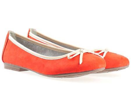 Немски равни дамски обувки Jana тип балеринa 8822164nchv