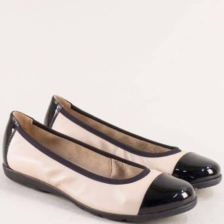 Дамски обувки в свежа комбинация от естествена кожа CAPRICE  922152bjch