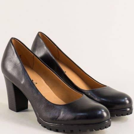Черни дамски обувки на висок ток с On Air система 92240623ch