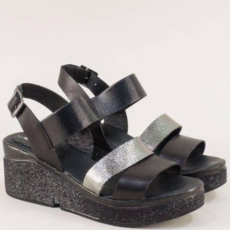 Дамски сандали на платформа в черно- NOTA BENE 962681166ch