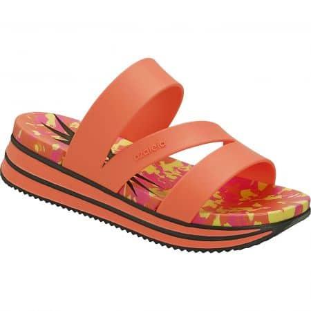 Оранжеви дамски джапанки на платформа- AZALEIA a260536ops