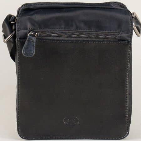 Мъжка чанта за рамо в черен цвят ch07220ch