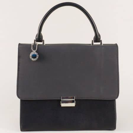 Елегантна дамска чанта в черен цвят ch13623ch