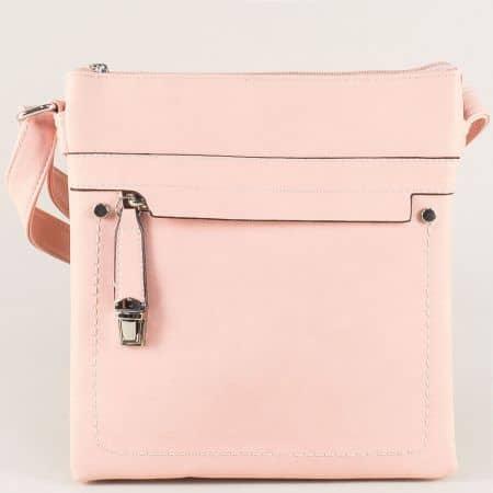 Дамска чанта в розов цвят ch1550408rz