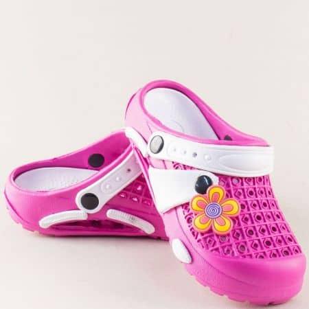 Розови детски чехли със затворени пръсти- GRAND ATTACK k5rz