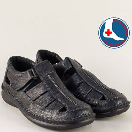 Ортопедични мъжки обувки на марка Loretta l1877ch