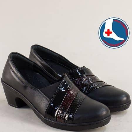 Анатомични дамски обувки на среден ток l549748ch