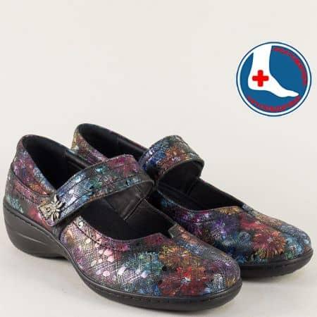 Анатомични дамски обувки от естествена кожа на Loretta l961chps