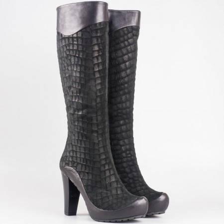Елегантни дамски ботуши с иновативен и модерен дизайн m216vch