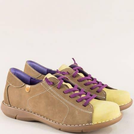 Анатомични дамски обувки на каучуково ходило m7046nkz