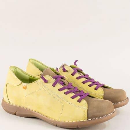 Анатомични свежи дамски обувки на каучуково ходило m7046nzk