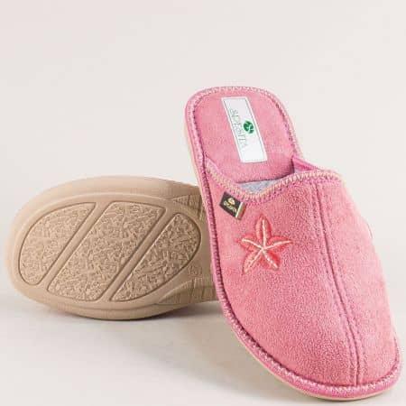 Дамски домашни пантофи в розов цвят- Spesita neviarz