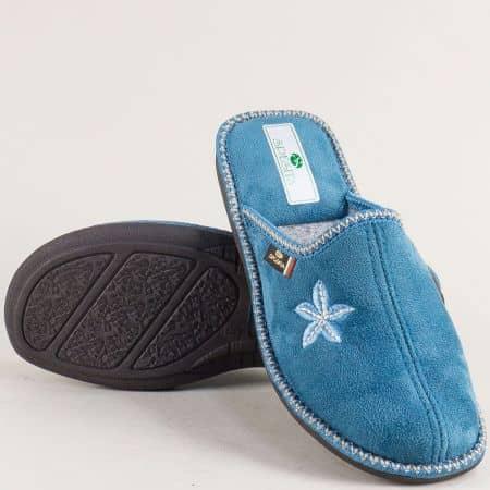 Дамски домашни чехли- Spesita в син цвят nevias