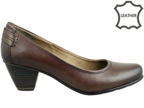 Немски дамски обувки  JANA от естествена кожа с ортопедична ANTI shok система 8822404kk