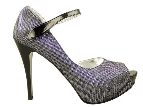 Елегантни дамски обувки на висок ток със семпла визия 4012sr