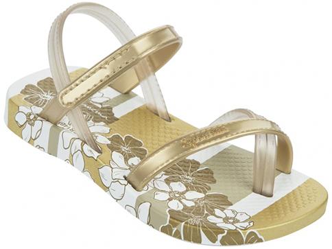 Бебешки бразилски сандали Ipanema в златист цвят 8149721241