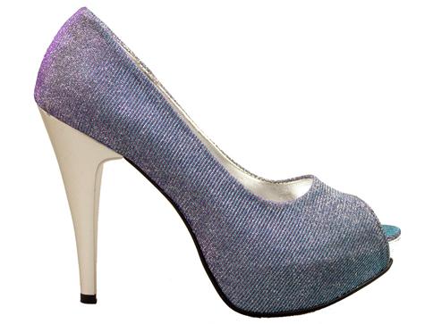 Елегантни дамски обувки на висок ток със семпла визия 1701hsv