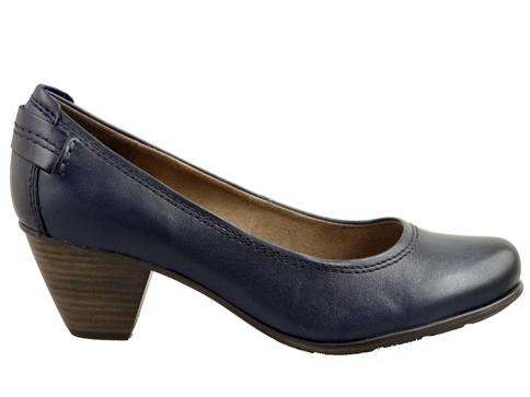 Немски дамски обувки  JANA от естествена кожа с ортопедична ANTI shok система 8822404s