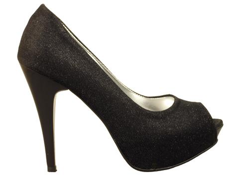 Елегантни дамски обувки на висок ток със семпла визия 1701ch