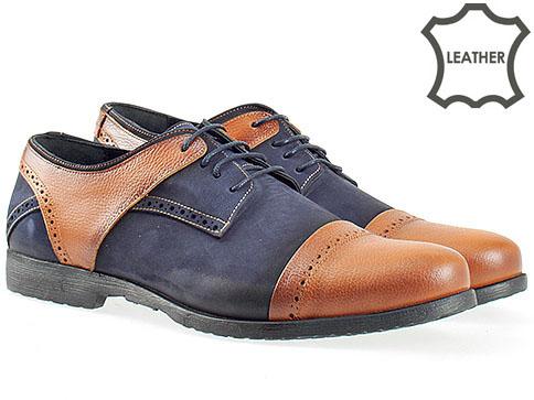 Луксозни мъжки обувки с моден италиански дизайн m307sk