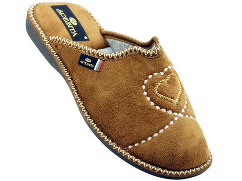 Удобни български домашни чехли Spesita brunelak