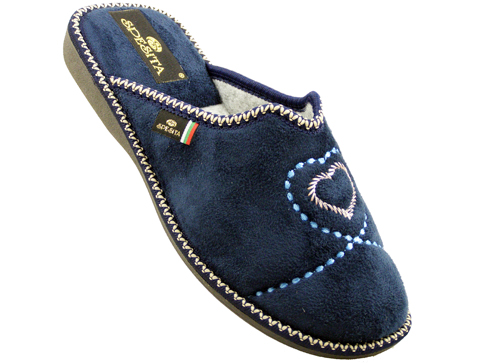 Удобни български домашни чехли Spesita brunelas