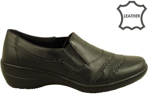 Дамски обувки от естествена кожа, ръчна изработка с анатомично ходило l5067ch