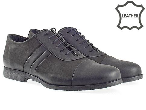 Стилни мъжки обувки с връзки, моден италиански дизаин и комфортно ходило 262nch