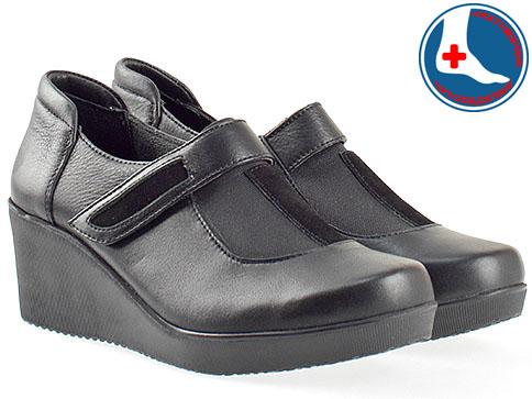 Анатомични дамски обувки от естествена кожа 2301ch