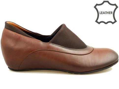Дамски обувки изработени от естествена кожа 344kk
