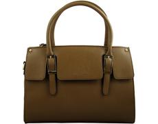 Класическа дамска чанта David Jones със стилна френска визия в тъмнокафяв цвят 2315kk
