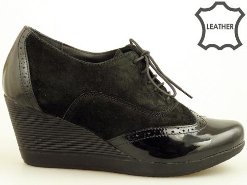 Български дамски обувки с перфо мотив, произведени в Пещера 3582663vchlch