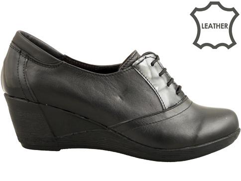 Комфортни, ежедневни дамски обувки от естествена кожа, произведени от български производител 18414311ch