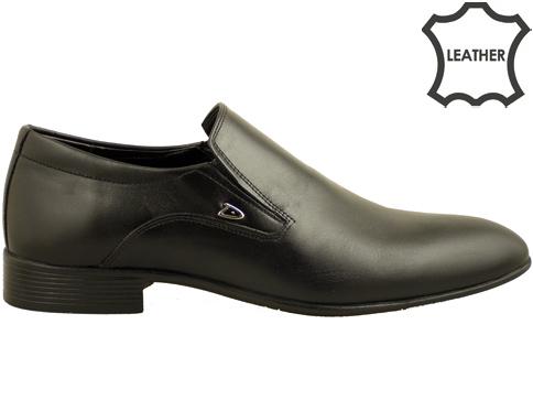 Стилни мъжки обувки, изработени изцяло от висококачествена естествена кожа 6039ch