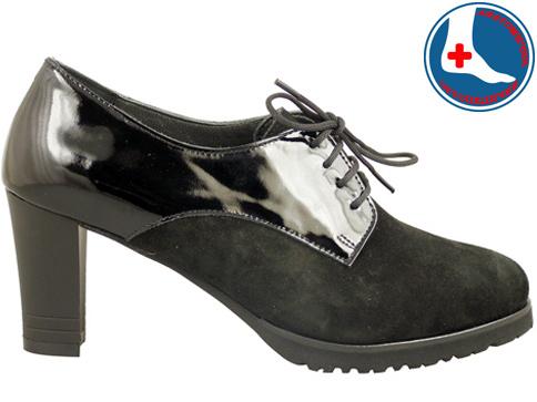 Анатомични дамски обувки с иновативната визия и връзки z619403vlch